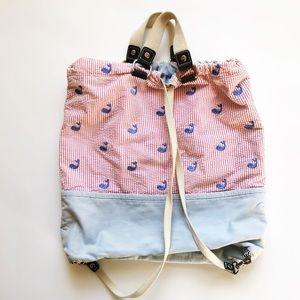GAP Kids Seersucker Whale Embroidered bag